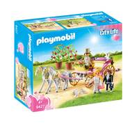 4008789094278 - PLAYMOBIL® City Life - Carrosse et couple de mariés