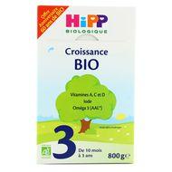 4062300298378 - Hipp - Lait de croissance 3 bio