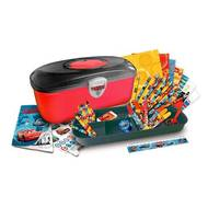 3517132110479 - D'Arpège - Ma boite à outils- Coloriage et crayons- Cars