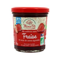 3456300011579 - Mamie Bio - Confiture extra de fraise bio, au sucre de canne Equitable