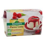 3396410222079 - Bonneterre - Panna cotta bio nappage framboise