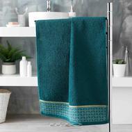 3574388012179 - Douceur D Interieur - Serviette de toilette Belina Bleu