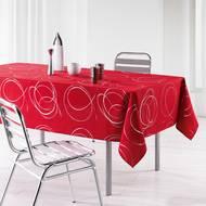 3574387215779 - Douceur D Interieur - Nappe Bully rouge 8/10 couverts