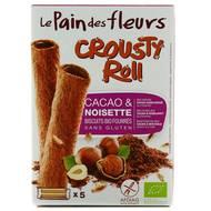 3380380070280 - Le pain des fleurs - Crousty Roll Cacao, sans gluten, Bio