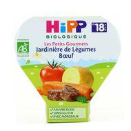 4062300081680 - Hipp - Jardinière de légumes au boeuf bio, dès 18 mois