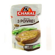 3181232172080 - Charal - Sauce aux 3 poivres