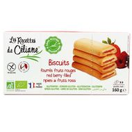 3700566452080 - Céliane - Biscuits Fourrés Fruits Rouges, Bio, sans gluten