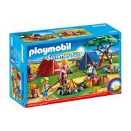 4008789068880 - PLAYMOBIL® Summer Fun - Tentes avec enfants et animatrice