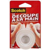 4046719360581 - Scotch - Ruban adhésif transparent découpe main