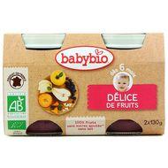 3288131510781 - Babybio - Mes Fruits - Délice de fruits bio, dès 4 mois