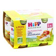 4062300201781 - Hipp - Offre Diversification Mes Premiers Fruits bio dès 4/6 mois