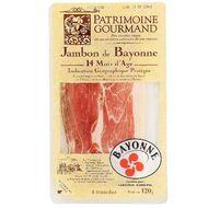 Patrimoine Gourmand - jambon de Bayonne, 6 tranches