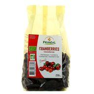 3380380063381 - Priméal - Canneberges (cranberries), Bio