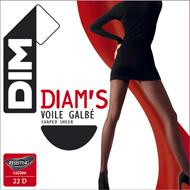 shopping best service utterly stylish Collant T6 diam's voile galbé couleur noir DIM - Shoptimise