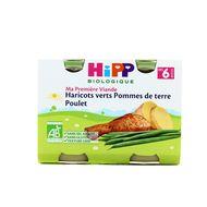 4062300127081 - Hipp - Haricots verts Pommes de Terre Poulet bio, dès 6 mois
