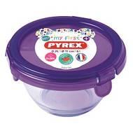 3426470277181 - Pyrex Baby Plus - Boite conservation en verre spéciale bébé avec couvercle violet