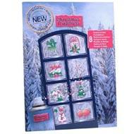 5410764216305 - Christmas Traditions - Aérosol de neige artificielle 150ml + 8 pochoirs