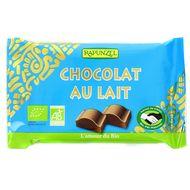 4006040070382 - Rapunzel - Chocolat au lait bio équitable