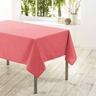 3574387221282 - Douceur D Interieur - Nappe rectangle CORAIL 8/10 couverts
