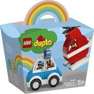5702016911282 - LEGO® DUPLO® - 10957- Hélicoptère des pompiers et la voiture de police
