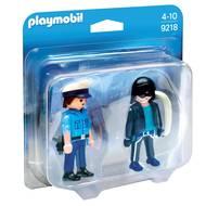 4008789092182 - PLAYMOBIL® City Action - Duo Policier et voleur