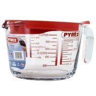 3426470277082 - Pyrex - Broc mesureur avec couvercle 1l verre