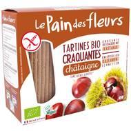 3380380037382 - Le pain des fleurs - Tartines craquantes à la châtaigne, sans gluten, bio