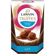Lanvin - Truffes chocolat lait fondant ultime