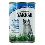 8714265270383 - Yarrah - Patée bio au poisson pour chat adulte