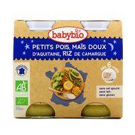3288131510583 - Babybio - Bonne Nuit - Petit pois mais riz bio, dès 6 mois