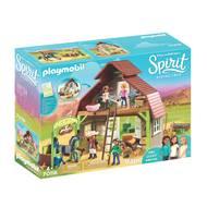 4008789701183 - PLAYMOBIL® Spirit - Grange avec Lucky, Apo et Abigaëlle