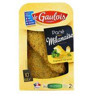 3266980781583 - Le Gaulois - Panés façon  Milanaise finement Citronés