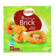 Cora - 8 Feuilles de Brick