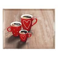 4009049444383 - Emsa - Plateau Coffee Party en mélamine