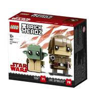 5702016176483 - LEGO® Brickheadz - 41627- Luke Skywalker & Yoda
