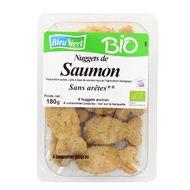3551610008483 - Bleu Vert - Nuggets de saumon bio