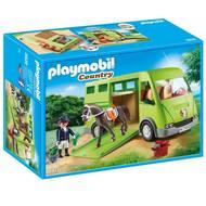 4008789069283 - PLAYMOBIL® Country - Cavalier avec van et cheval