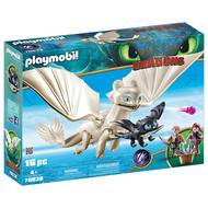 4008789700384 - PLAYMOBIL® Dragons - Furie Éclair et bébé dragon avec enfants