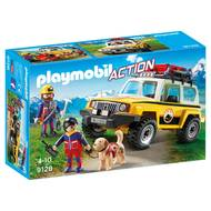 4008789091284 - PLAYMOBIL® Action - Secouristes des montagnes avec véhicule