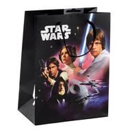 3701037600085 - Star Wars - Sac cadeau format CD/DVD avec cordelettes