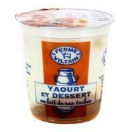 3760074380985 - Ferme de Viltain - Yaourt bicouche caramel