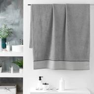 3574388012285 - Douceur D Interieur - Drap de bain Belina Gris