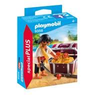 4008789093585 - PLAYMOBIL® Spécial Plus - Pirate avec coffre au trésor