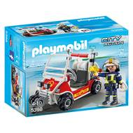 4008789053985 - PLAYMOBIL® City Action - Chef des pompiers avec voiturette