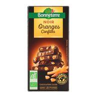 3396410024185 - Bonneterre - Chocolat noir bio oranges confites