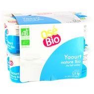 3760099534585 - Osé Bio - Yaourt nature bio au lait entier