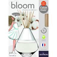 3065876125285 - Devineau - Diffuseur de parfum Bloom Coton musc anti odeur