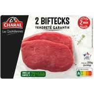 3181238976385 - Charal - Bifteck de boeuf- Les Quotidiennes