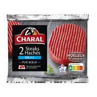 3181232220286 - Charal - Biftecks hachés pur boeuf 5% mat.gr