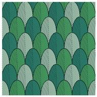 5412931052686 - codima - Serviettes Scales green 33 x 33 cm